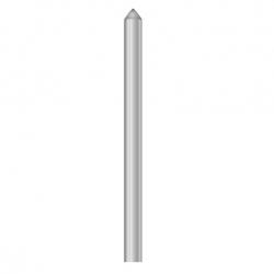 "Diamond Engraving Cutters 1/4""x 6.1/2"" 120 deg Conical"