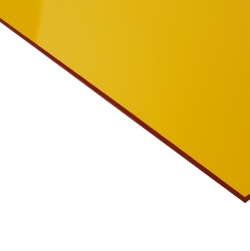 External Laminate Gloss Yellow Surface, Red base