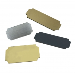 Trophy Plate Rectangles