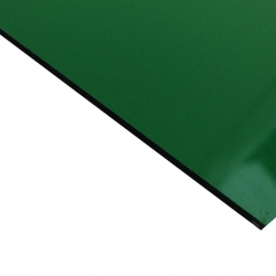 External Laminate Gloss Green Surface, Black Base 1.5mm