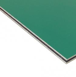 Hard Engraving Laminate Green/White/Green