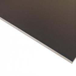 Laserable Anodised Aluminium Sheet, Matt Black