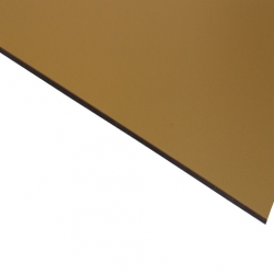External Laminate Matt Gold Surface, Black Base 1.5mm