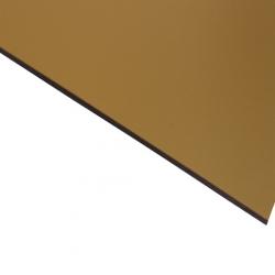 External Laminate Matt Gold Surface, Black Base 1.5mm