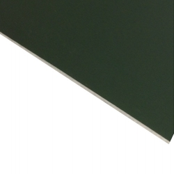 Laserable Anodised Aluminium Sheet, Matt Green