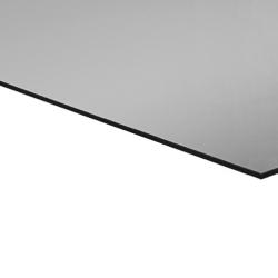 Flexline Laser Laminate High Gloss Silver, Black Base