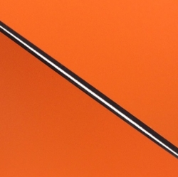 External Laminate 3ply Gloss Orange/Black/Matt Orange 1.5mm