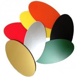 Small Plastic Ovals
