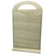 Wooden Display Board