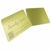 Matt Lime Yellow Business Cards