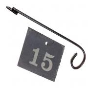 Slate Engraved Label with Label Hanger