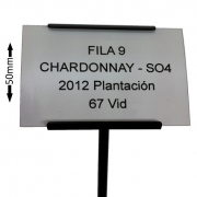 Label Holder with Plant Label
