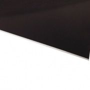 Flexline Laser Laminate Matt Black Surface, White Base