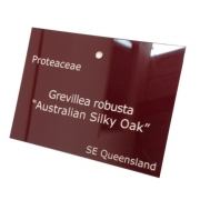 Gloss Burgundy External Label