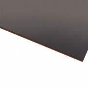 Flexline Laser Laminate Gloss Black Surface, Gold Base