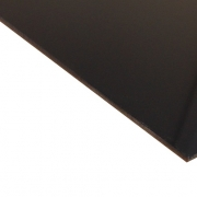 External Laminate Gloss Black Surface, Gold base