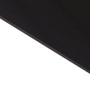 Reverse Laminate Gloss Clear Surface, Black Base