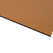Micro Metallic Laminate Gloss Gold Surface, Black Base