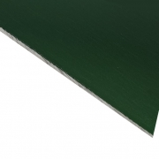 Laserable Anodised Aluminium Sheet, Gloss Green, AA15