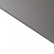 Reverse Laminate Gloss Clear Surface, Silver Base