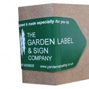 Logo sticker using Matt Green Laserfoil