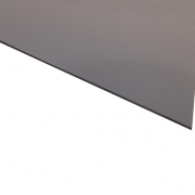 Micro Laminate Matt Grey Surface, Black Base