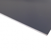 Micro Laminate Matt Grey Surface, White Base