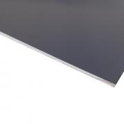 Micro Laminate Matt Grey Surface, White Base