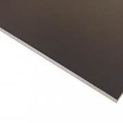 Laserable Anodised Aluminium Sheet, Matt Black, AA15