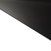 Reverse Laminate Matt Clear Surface, Black Base