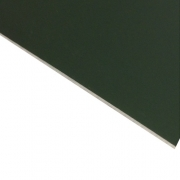 Laserable Anodised Aluminium Sheet, Matt Green, AA15