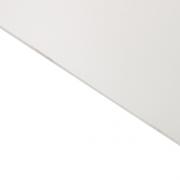 Reverse Laminate Matt Clear Surface, White Base