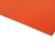 Micro Laminate Matt Orange Surface, White Base
