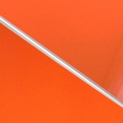 External Laminate 3ply Gloss Orange/White/Matt Orange 1.5mm