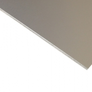 Anodised Aluminium Sheet, Silver Satin (Natural 100A)