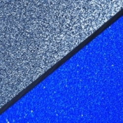 Glitter Acrylic Sparkling Light Blue & Royal Blue