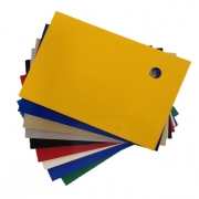Gloss Yellow Hard Laminate