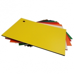 Matt Yellow Micro Laminate