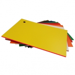 Matt Yellow Red Micro Laminate